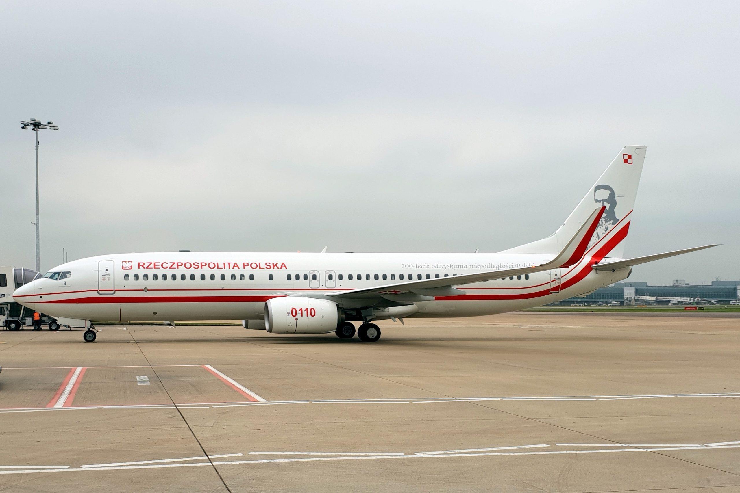 Polens regeringsfly af typen Boeing 737-800. (Foto: John Taggart   CC 2.0)