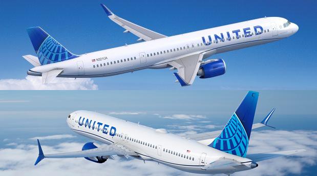 United bestiller 70 Airbus A321neo og 200 Boeing 737 MAX 8/10.