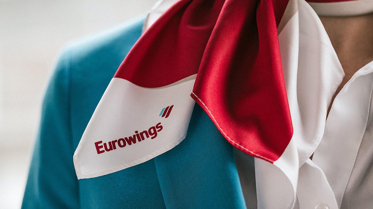 Uniformen til kabinepersonalet hos Eurowings. (Foto: Eurowings | PR)