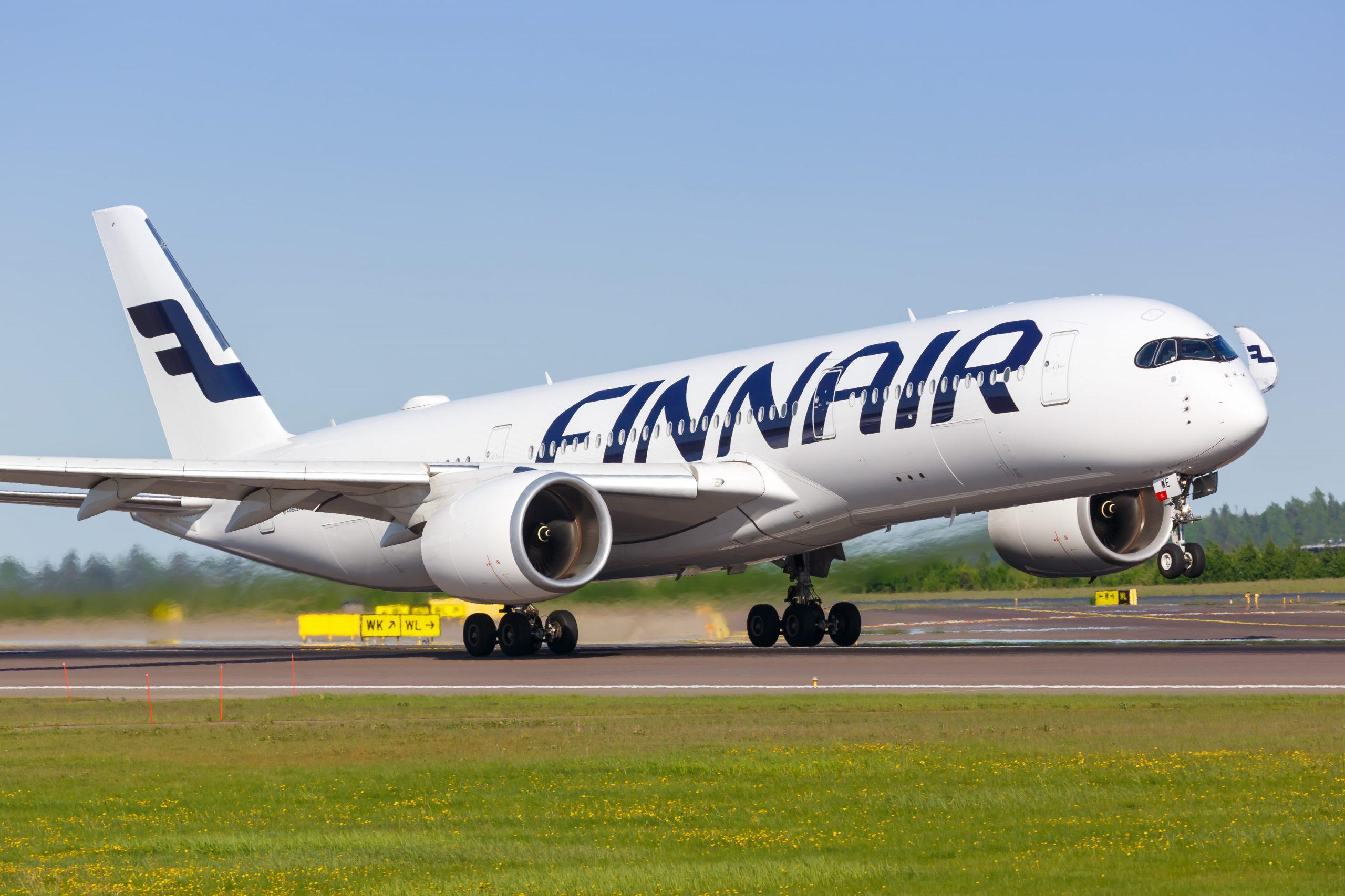 Airbus A350-900 fra Finnair. (Foto: Markus Mainka | Shutterstock)