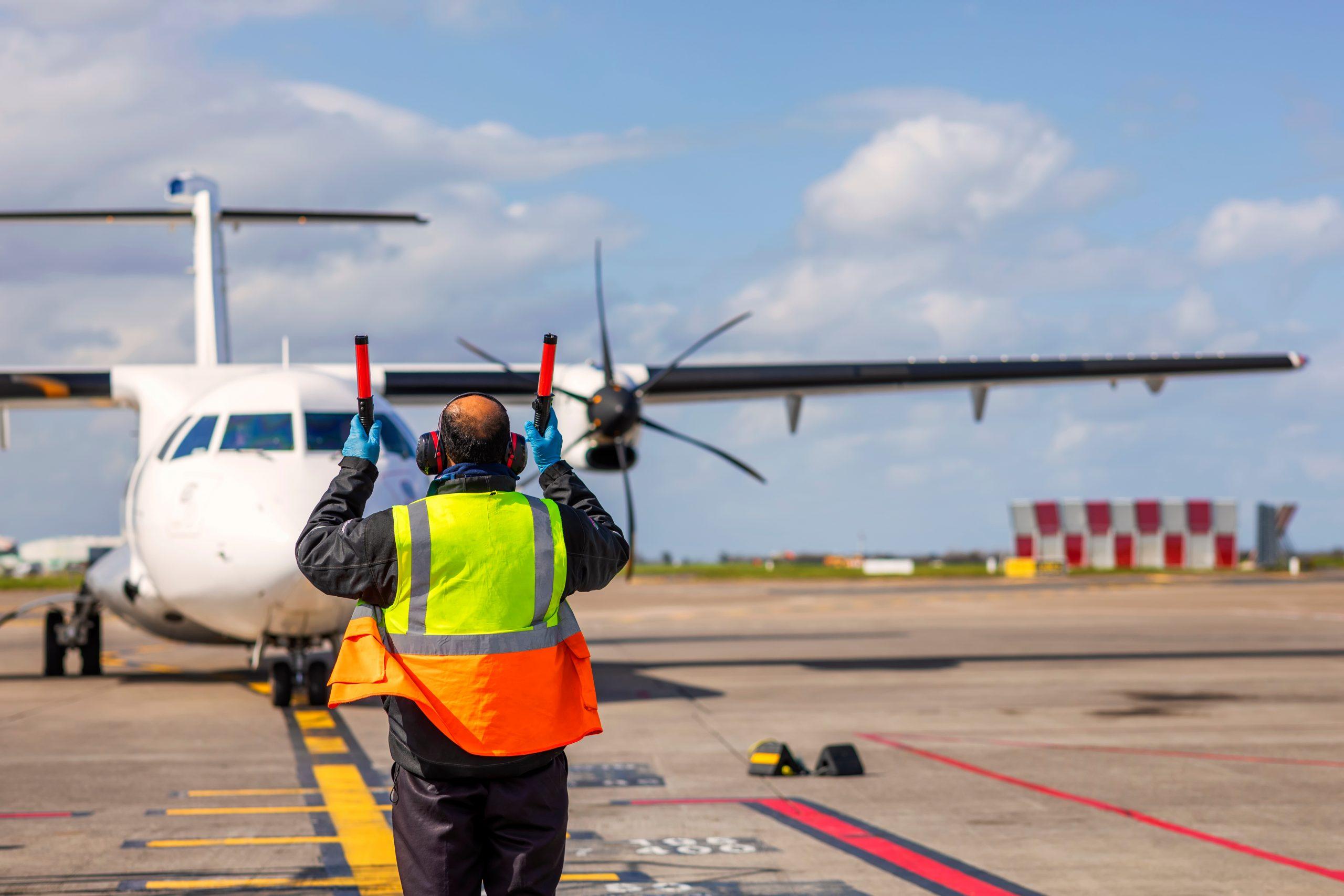 Stobart Air ATR 72 på vegne af Aer Lingus. (Foto: Peter Krocka   Shutterstock)
