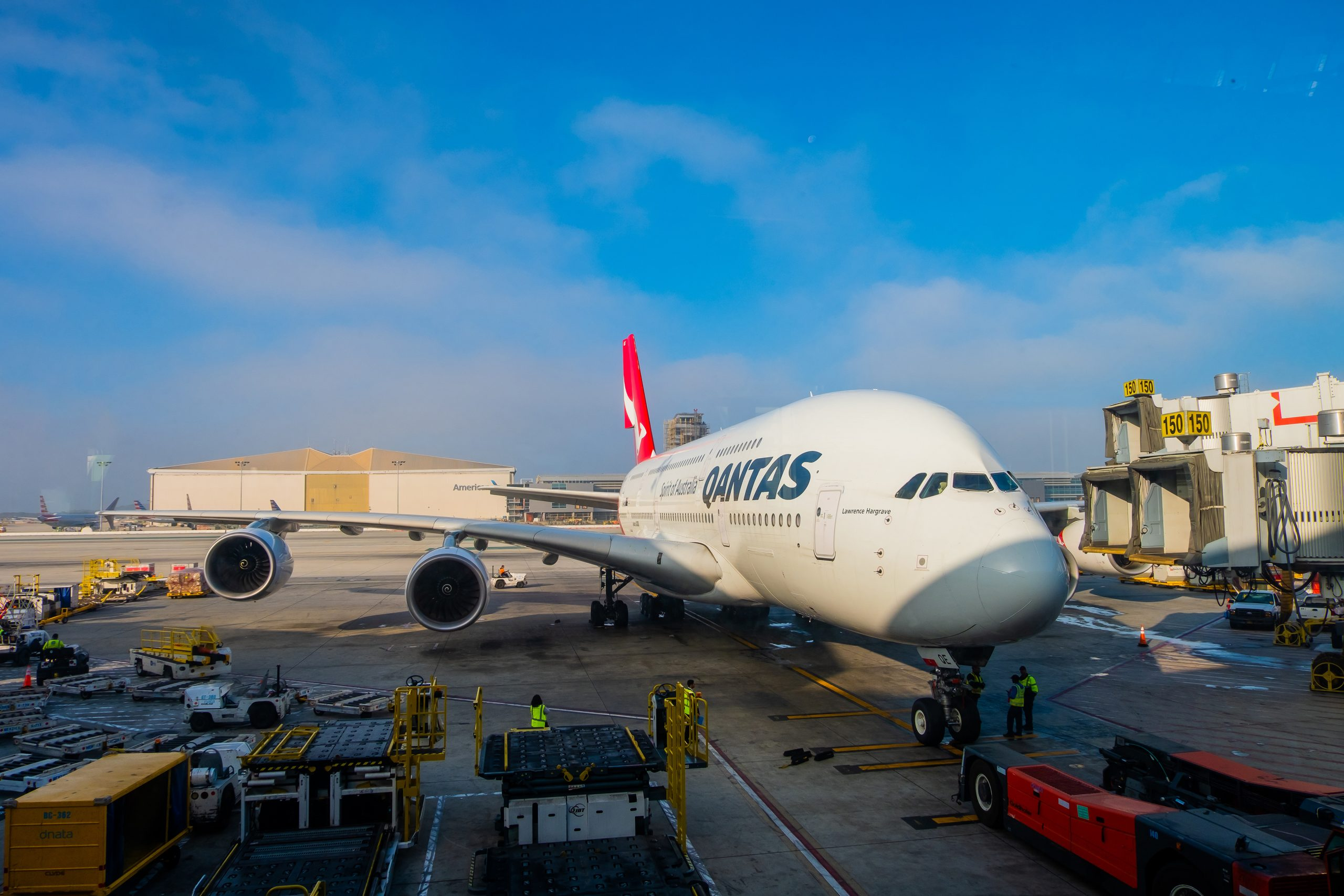 Airbus A380 fra Qantas. (Foto: CK Foto | Shutterstock)