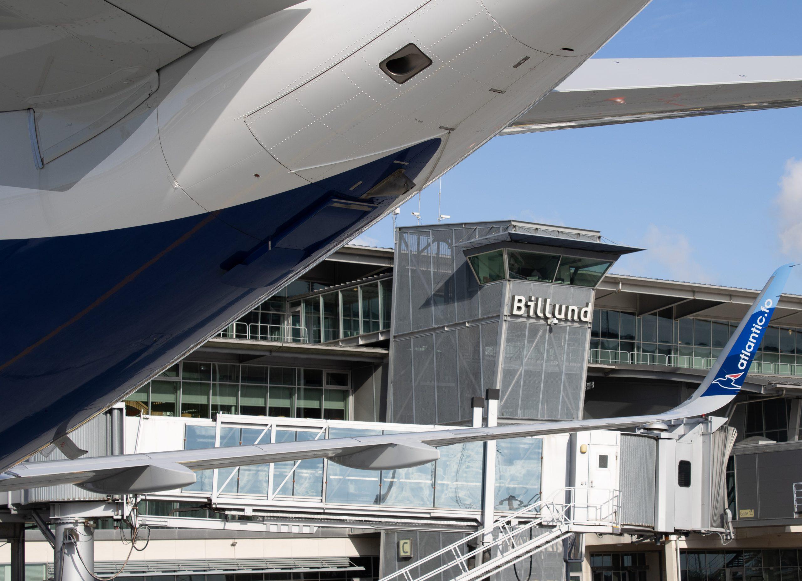 Fly fra Atlantic Airways i Billund Lufthavn. (Foto: Billund Lufthavn)