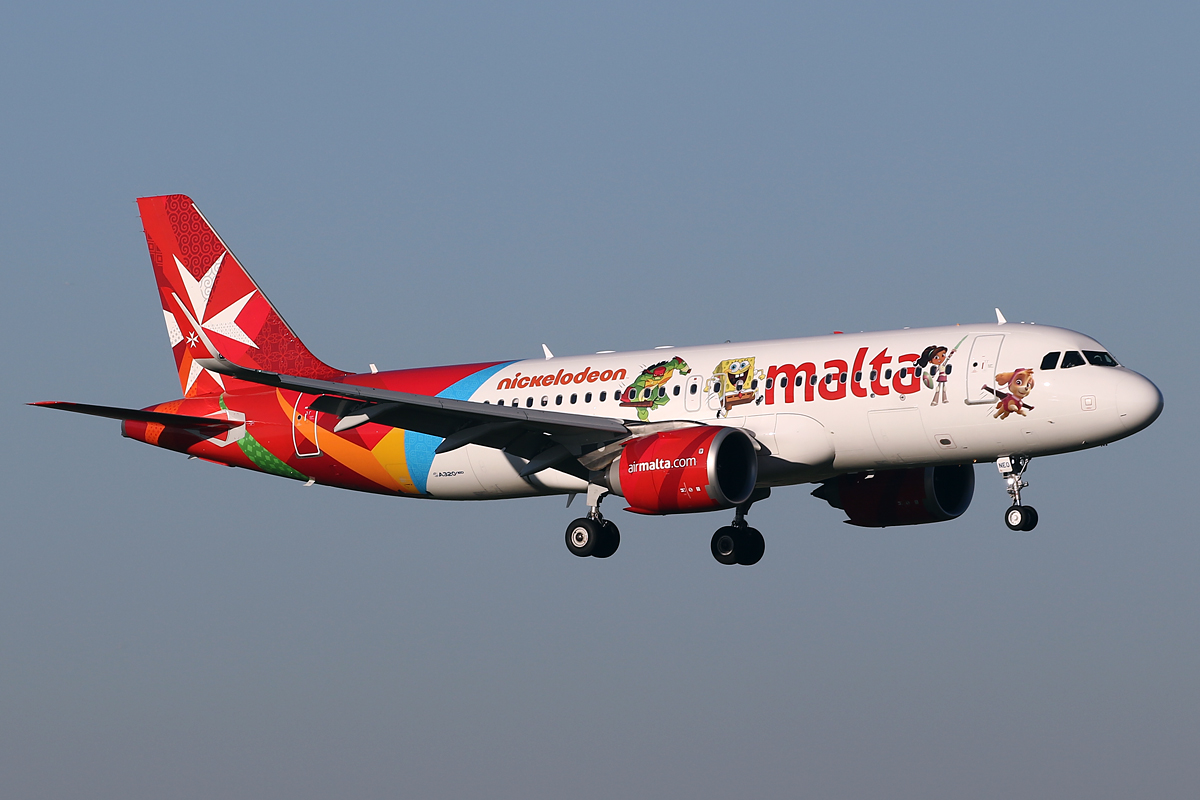 En Airbus A320neo fra Air Malta. Foto: Jeroen Stroes Aviation Photography, CC 2.0