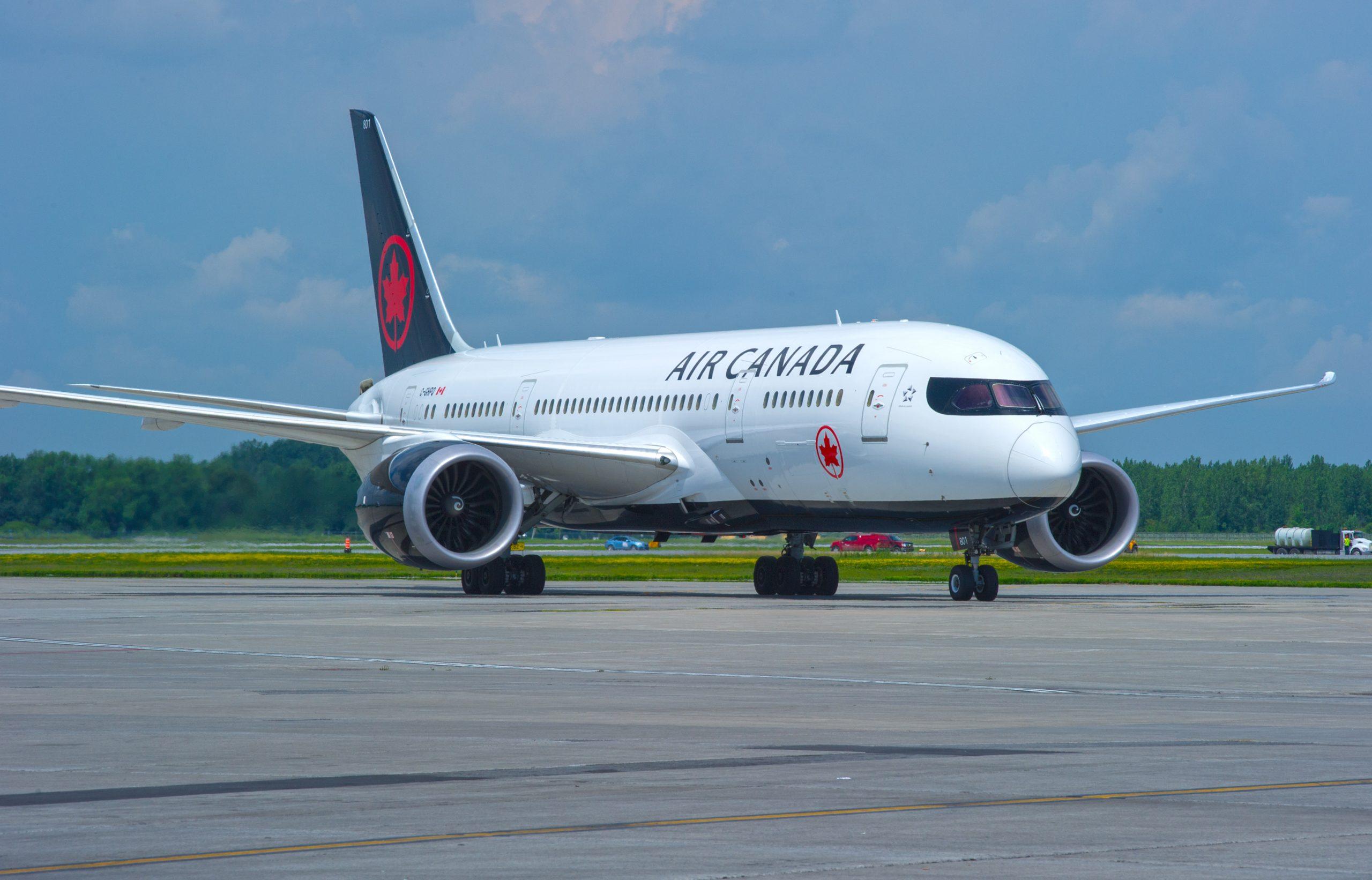 En Boeing 787-8 Dreamliner fra Air Canada. Foto: Air Canada