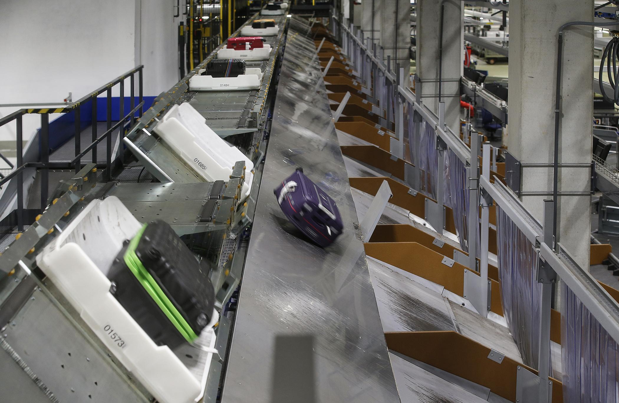 BEUMER Group skal levere nyt bagagehåndteringssystem til Oslo Gardermoen. Foto: BEUMER Group