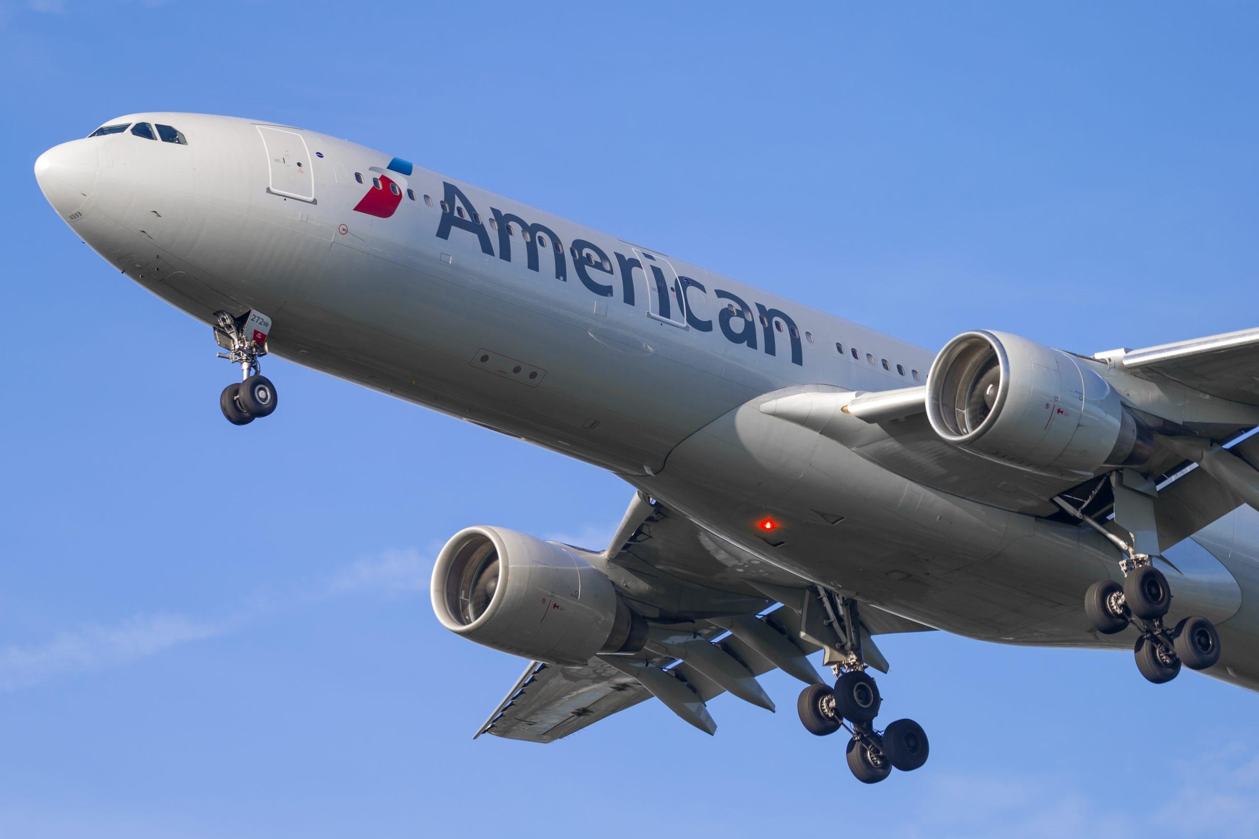 En Airbus A330-300 fra American Airlines. Foto: © Thorbjørn Brunander Sund, Danish Aviation Photo