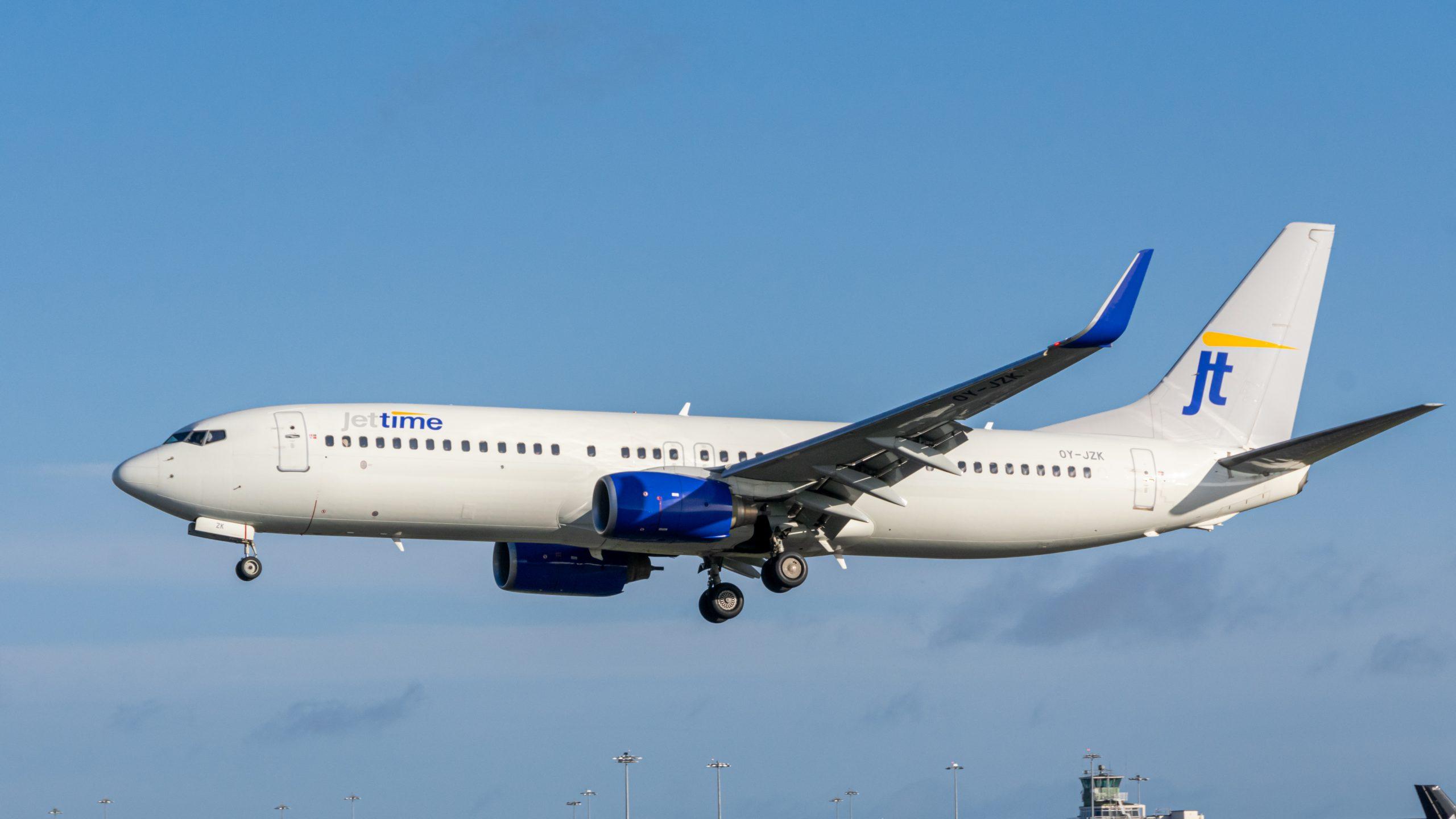 Boeing 737-800 fra Jettime. (Foto: Dux Croatorum | Shutterstock)