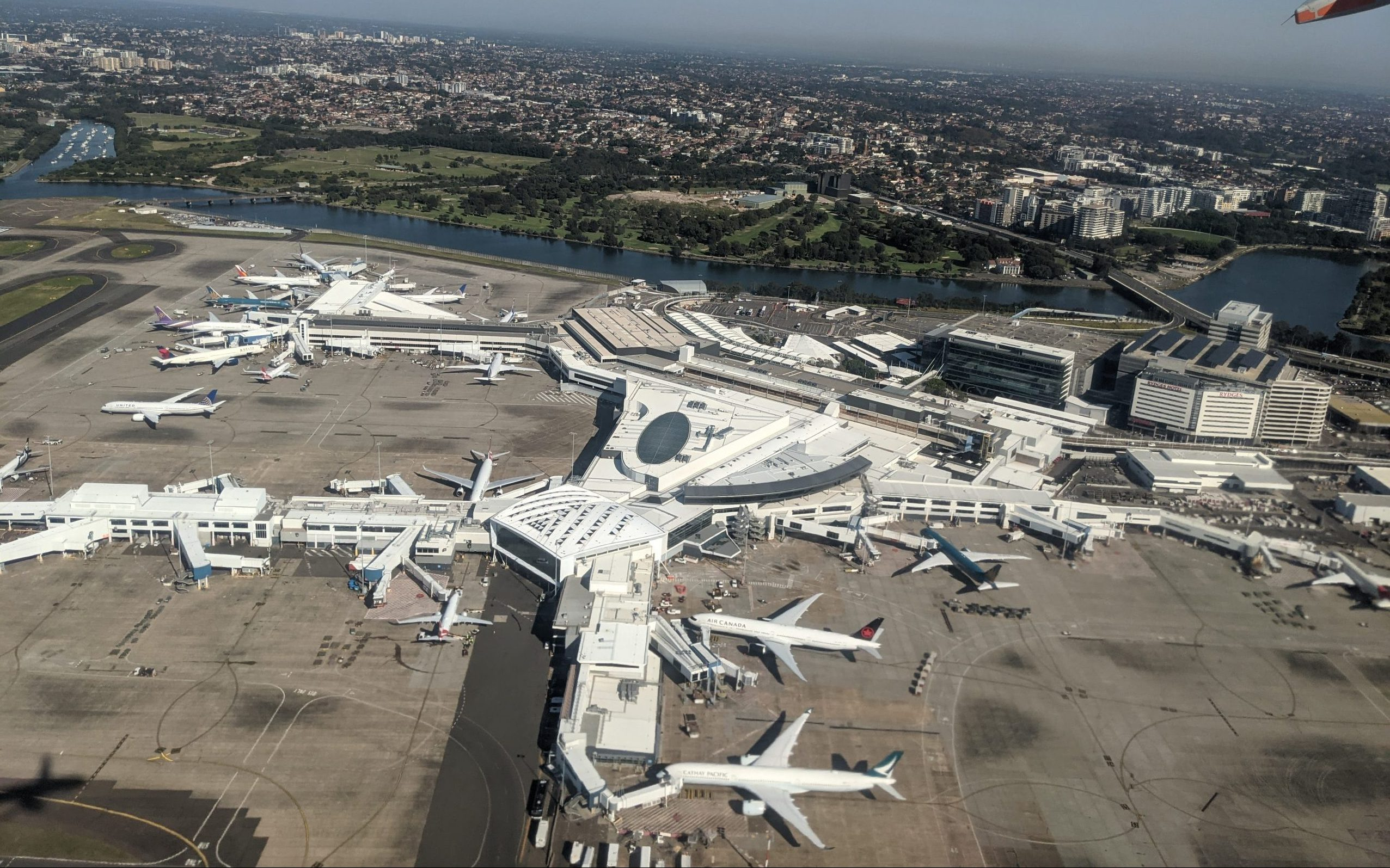 Terminal 1 i Sydney Airport. Foto: MDRX, CC 4.0