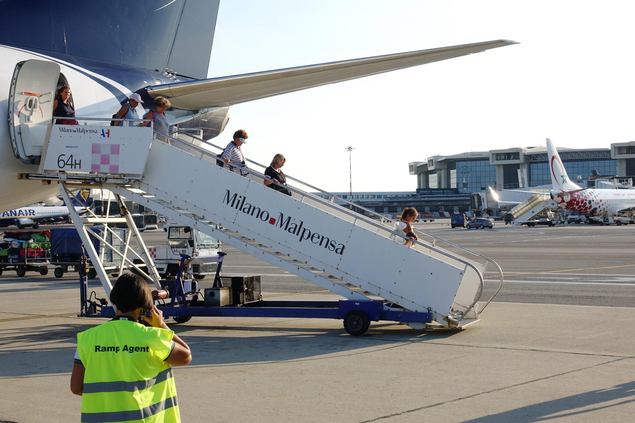 Fly i Milano Malpensa Aiport. (Foto: Mike Dotta   Shutterstock)