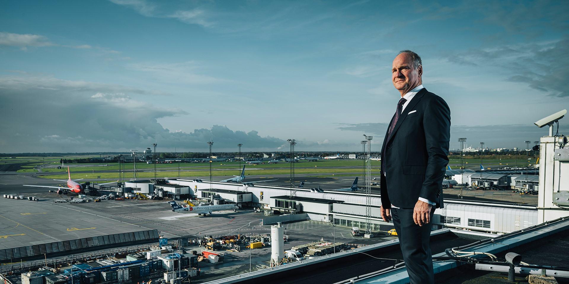 Administrerende direktør Thomas Woldbye fra Københavns Lufthavn.  (Foto: CPH   PR)