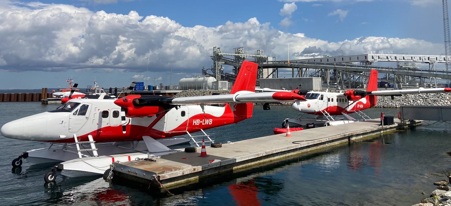 Forrest det nye fly i flåden. (Foto: Nordic Seaplanes)