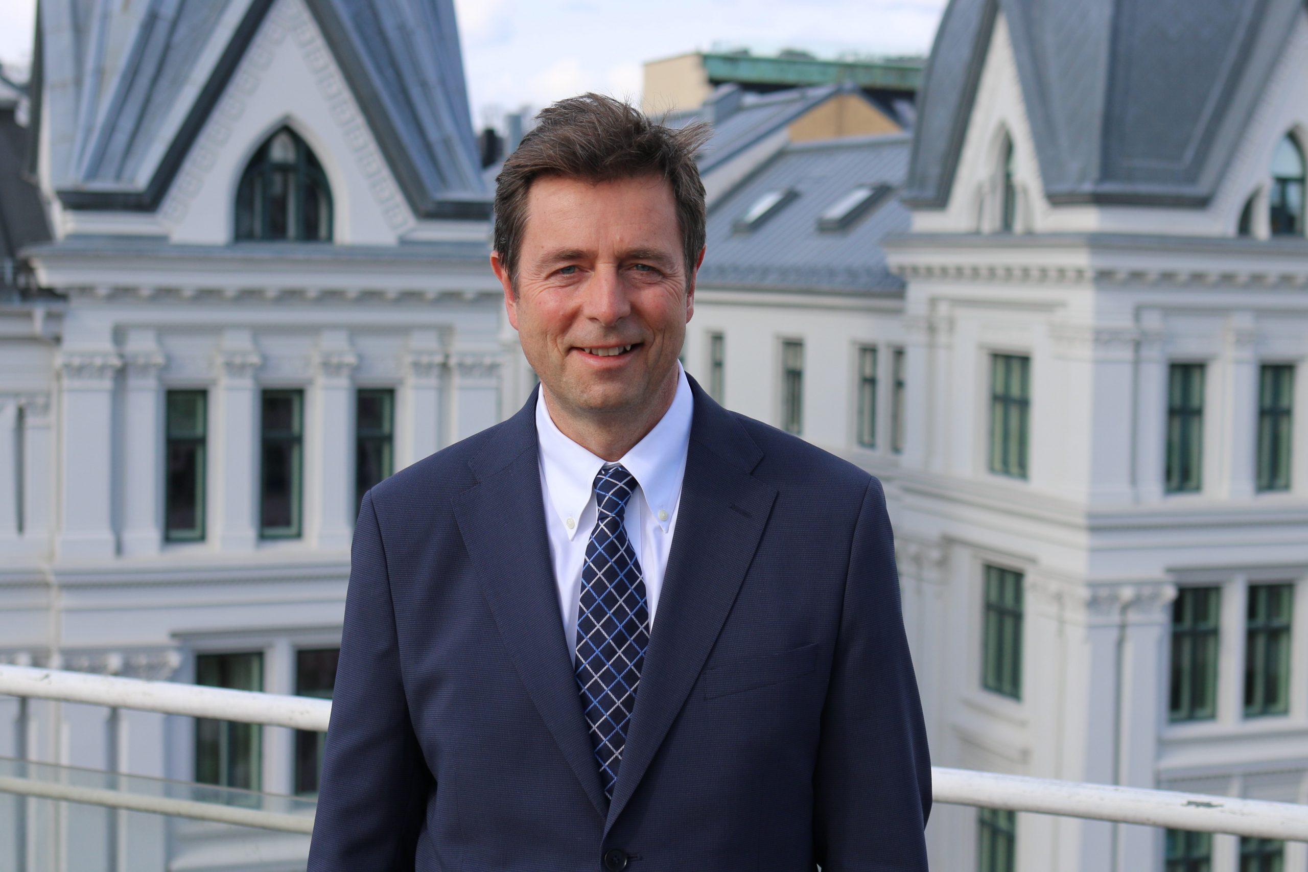 Bjørn Tore Larsen, administrerende direktør i Norse Atlantic Airways. (Foto: NAA   PR)