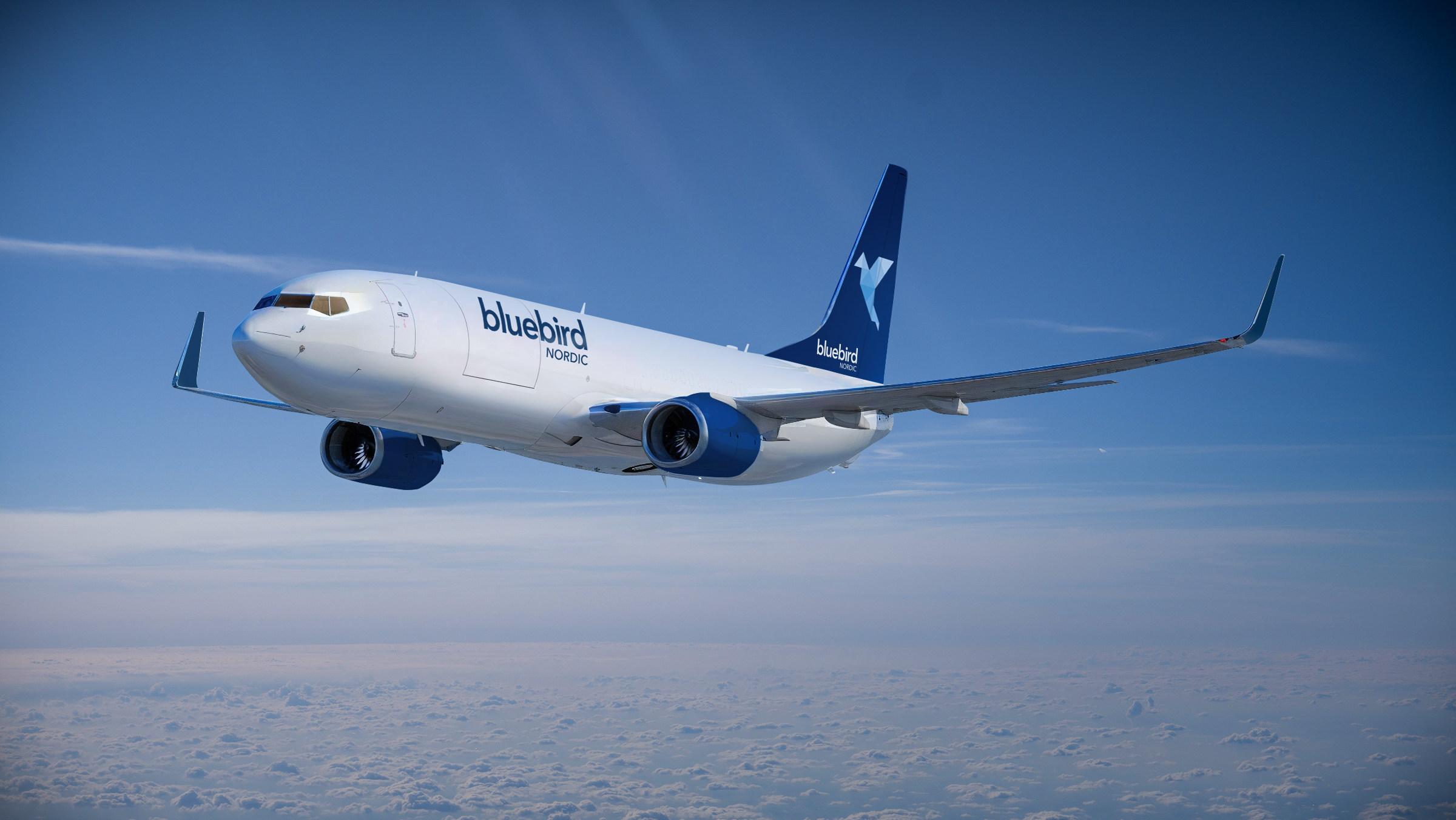 Boeing 737-800 fra Bluebird Nordic. (Foto: Bluebird Nordic | PR)