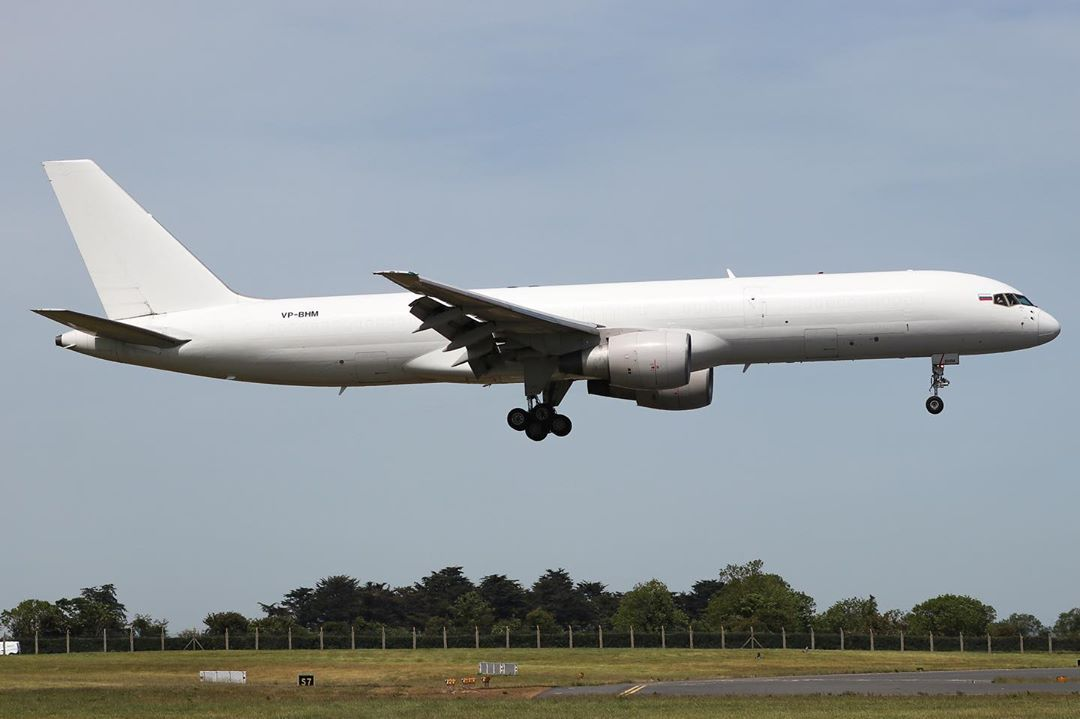 Boeing 757-200F (Foto: Menkor Aviation)