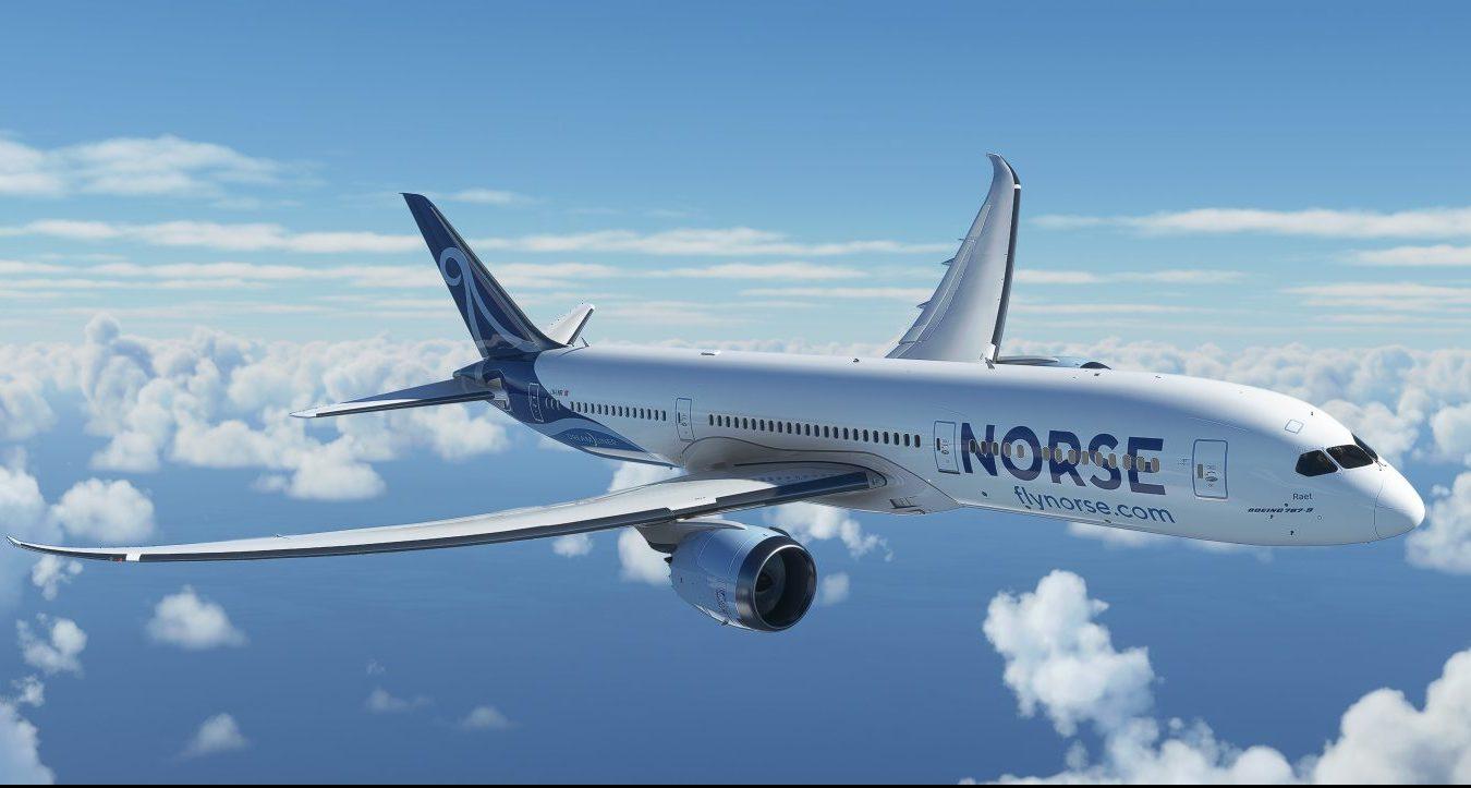 Bemalingen af de kommende Boeing 787 Dreamlinere hos Norse. Foto: Norse Atlantic Airways