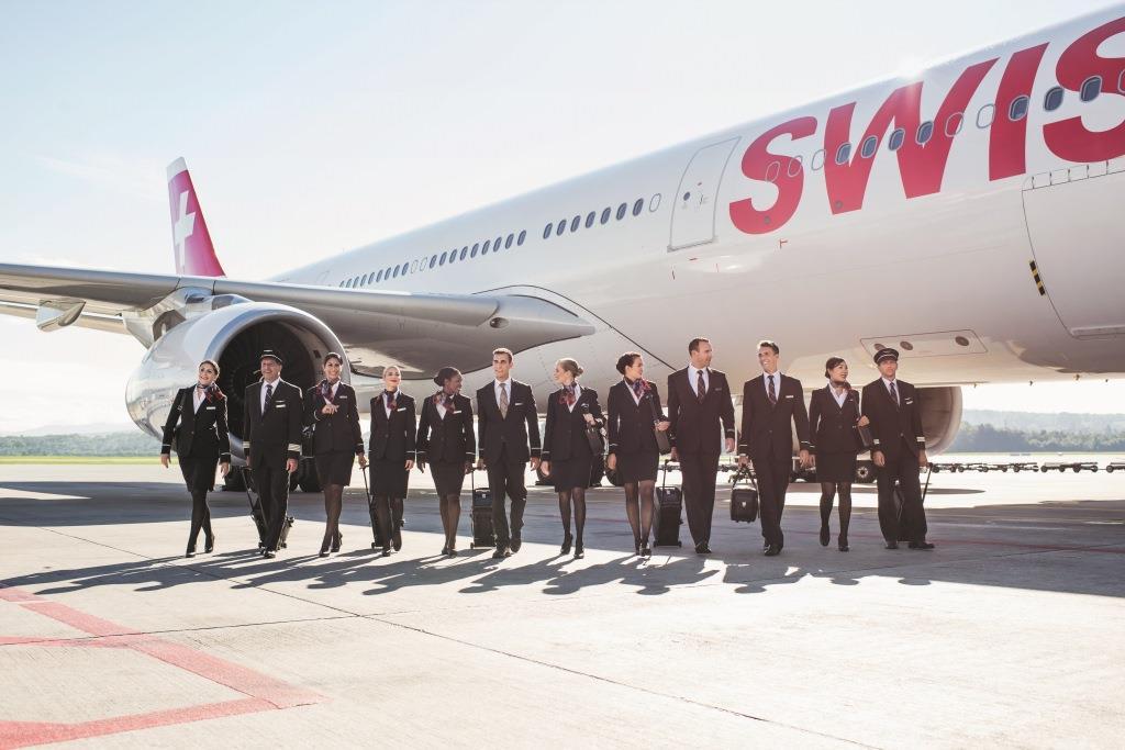 SWISS-besætning. (Foto: SWISS   PR)