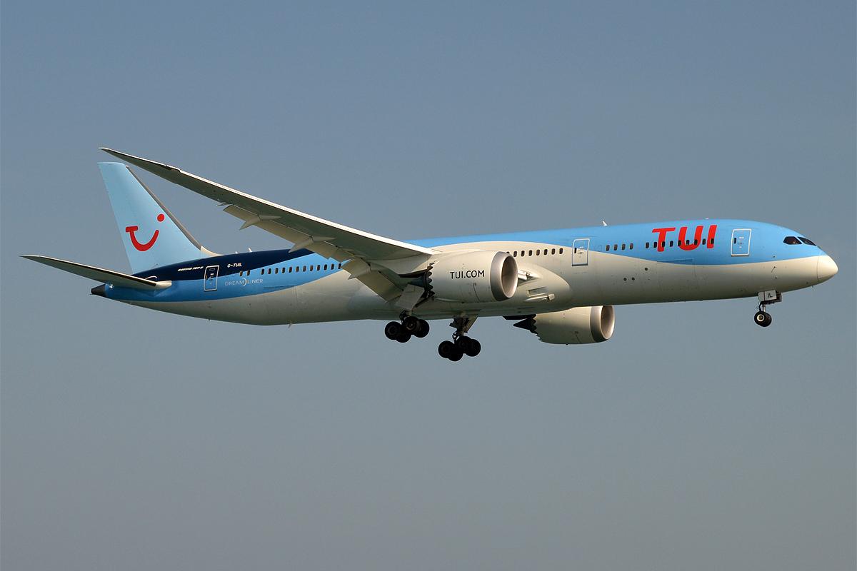 Boeing 787-9 Dreamliner fra TUI Airways. (Foto: Anna Zvereva   CC 2.0)