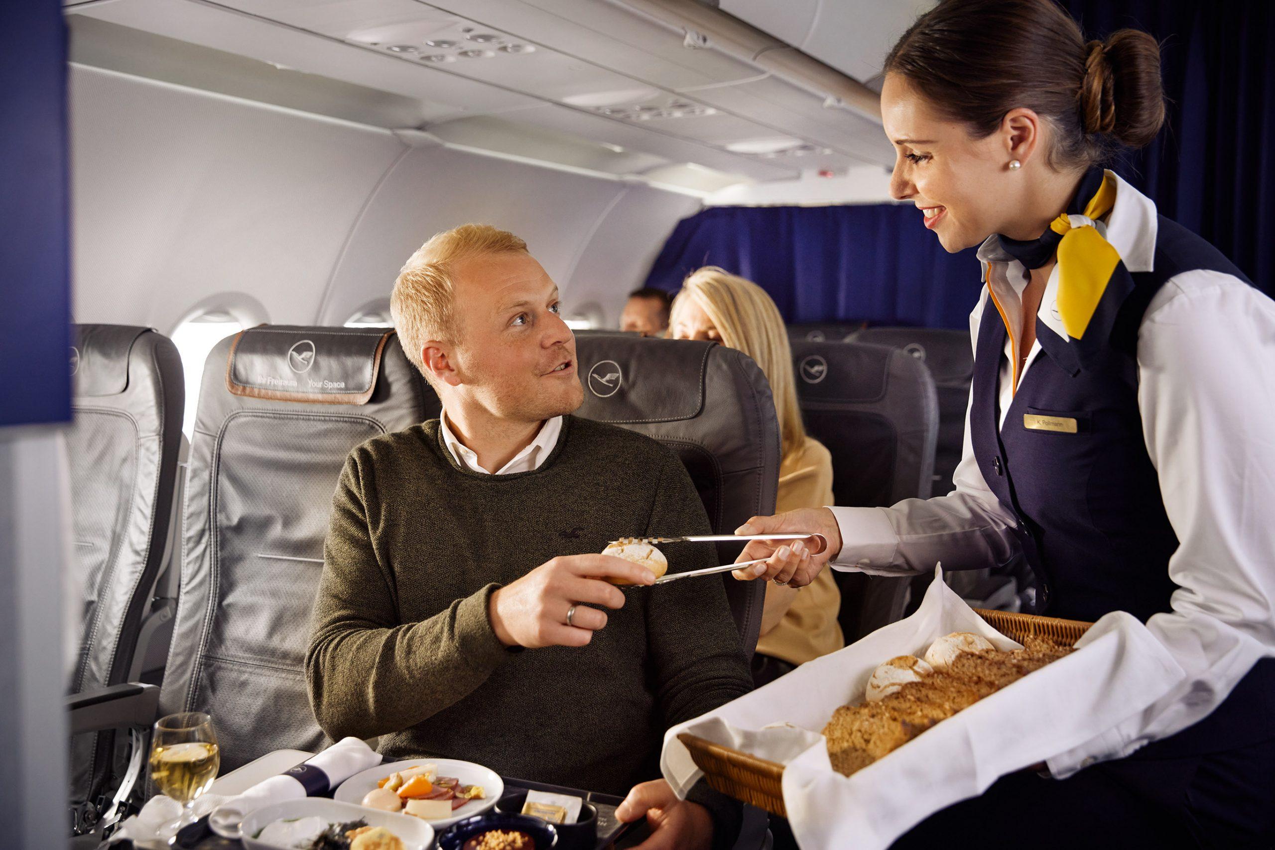 Lufthansa serverer mad, der er inspireret af retter fra seks tyske storbyer. (Foto: Lufthansa)