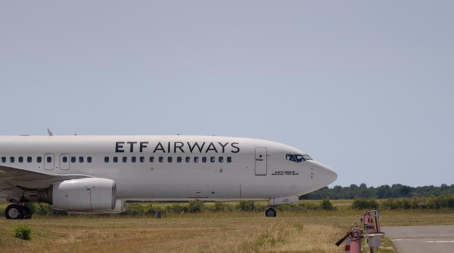 Boeing 737-800 fra ETF Airways. (Foto: Il Trovatore – ETF Airways)