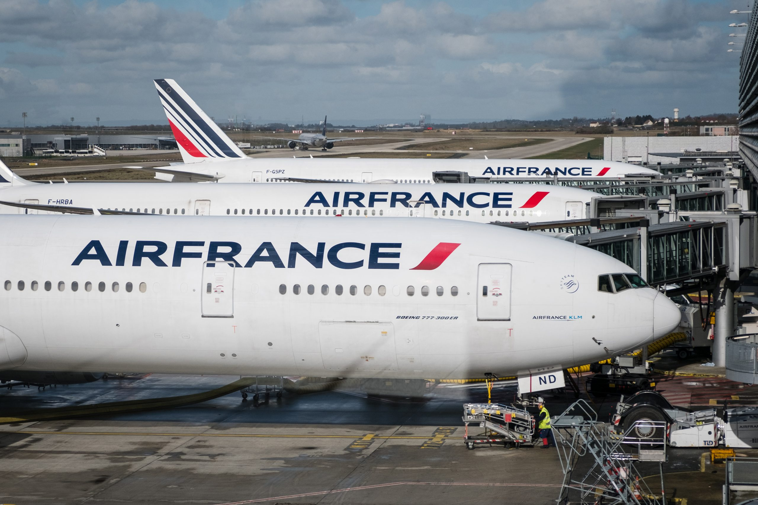 Air France-fly i Paris-Charles de Gaulle Airport. (Foto: hanohiki   Shutterstock)