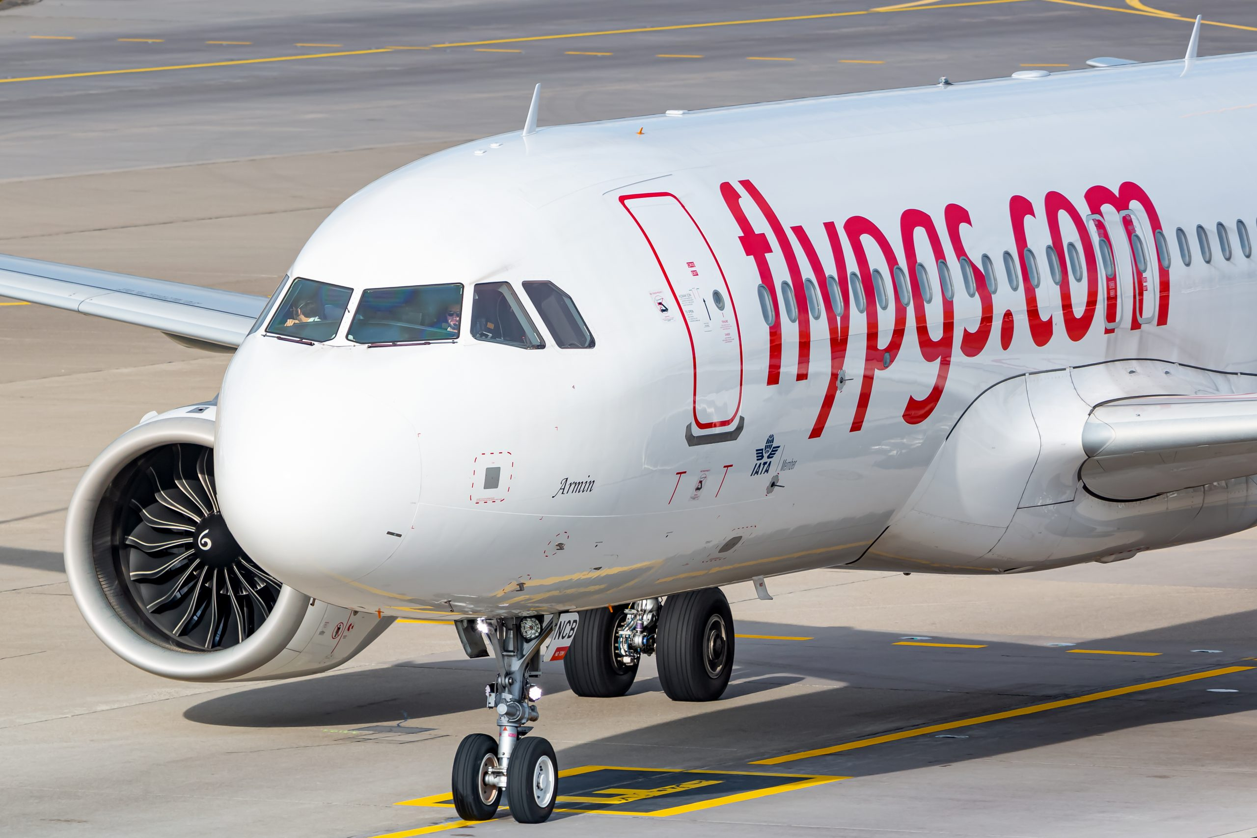 Airbus A320neo fra Pegasus Airlines. (Foto: Lukas Wunderlich | Shutterstock)