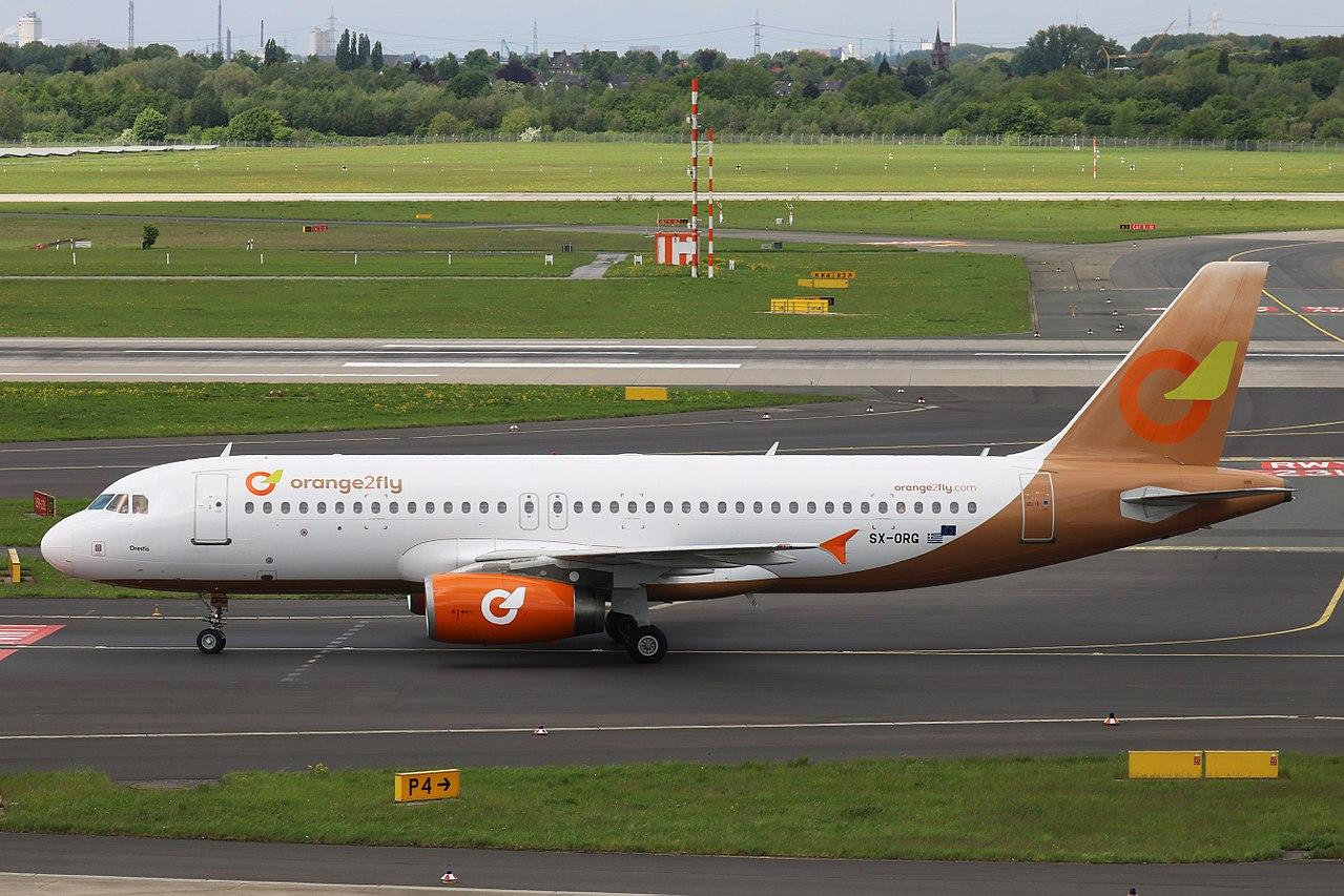 Airbus A320-200 fra Orange2Fly. (Foto: Marvin Mutz   CC 2.0)