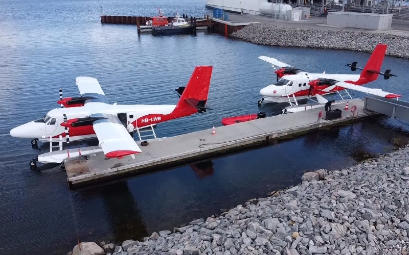 To fly fra Nordic Seaplanes ved Aarhus Vandflyveplads. (Foto: Nordic Seaplanes | PR)