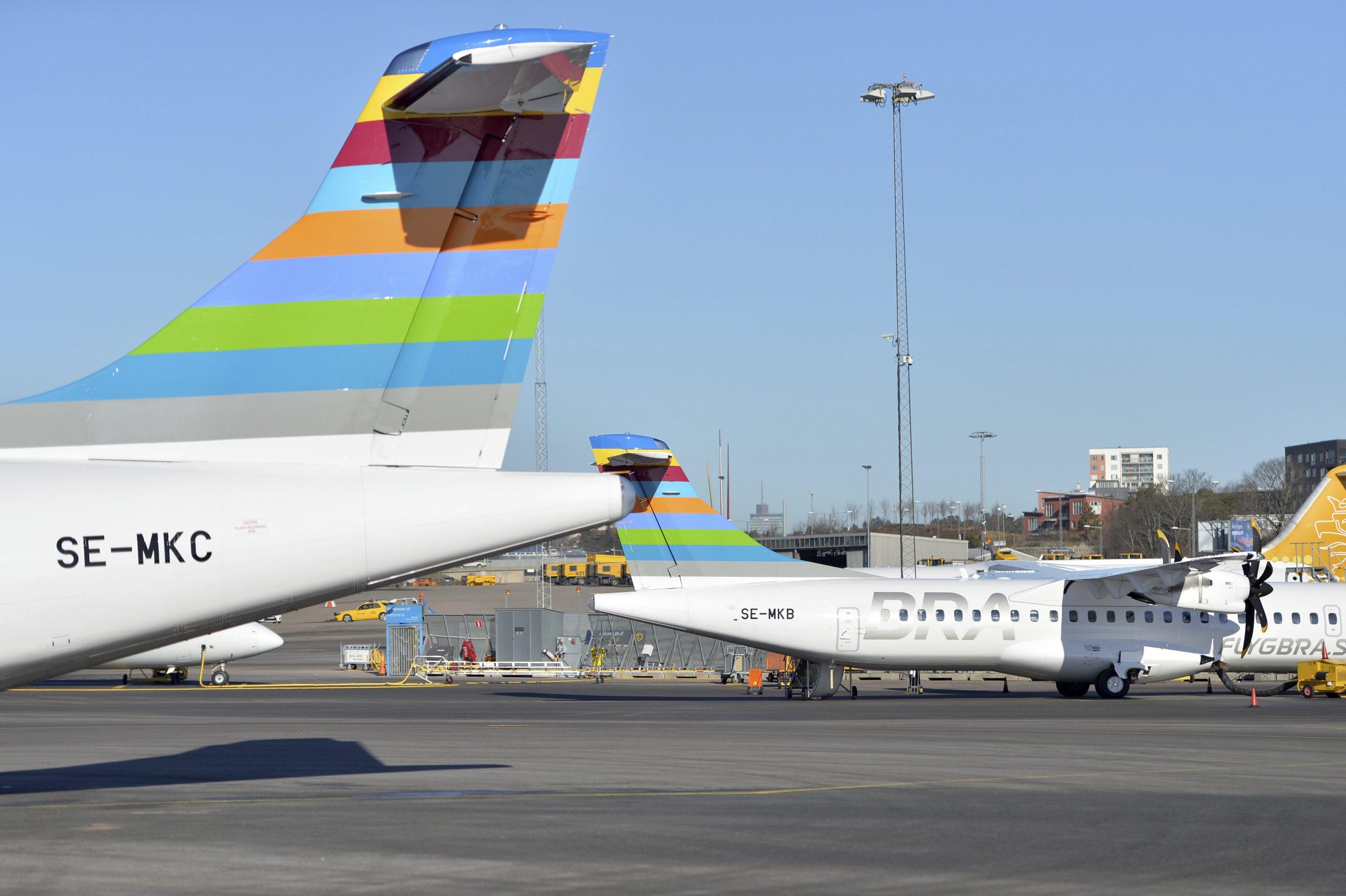 ATR 72-fly fra BRA (Foto: BRA | PR)