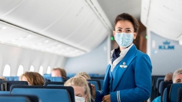 Kabineansat fra KLM. (Foto: KLM   PR)