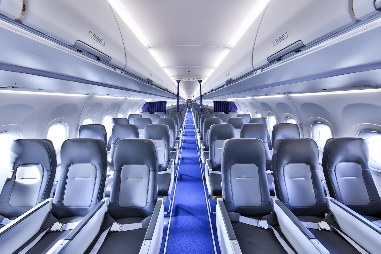 Airspace Cabin i Lufthansa A321neo. (Foto: Lufthansa   PR)