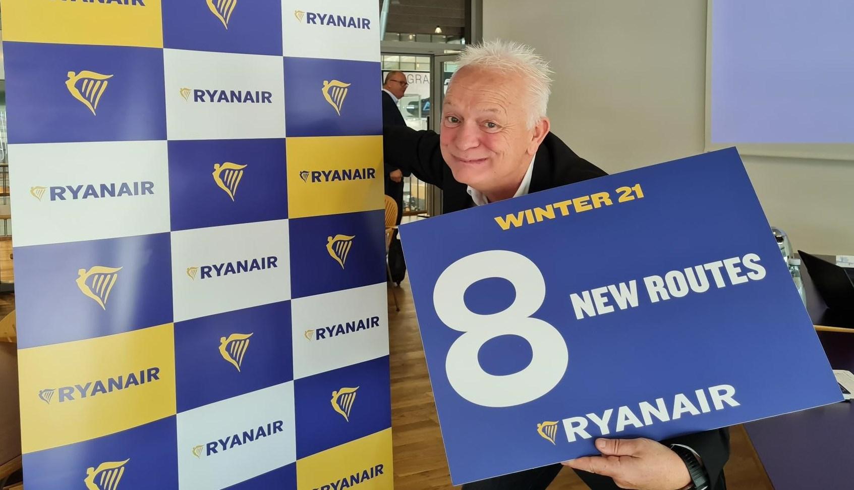 Eddie Wilson, administrerende direktør i Ryanair DAC. (Foto: Ryanair)