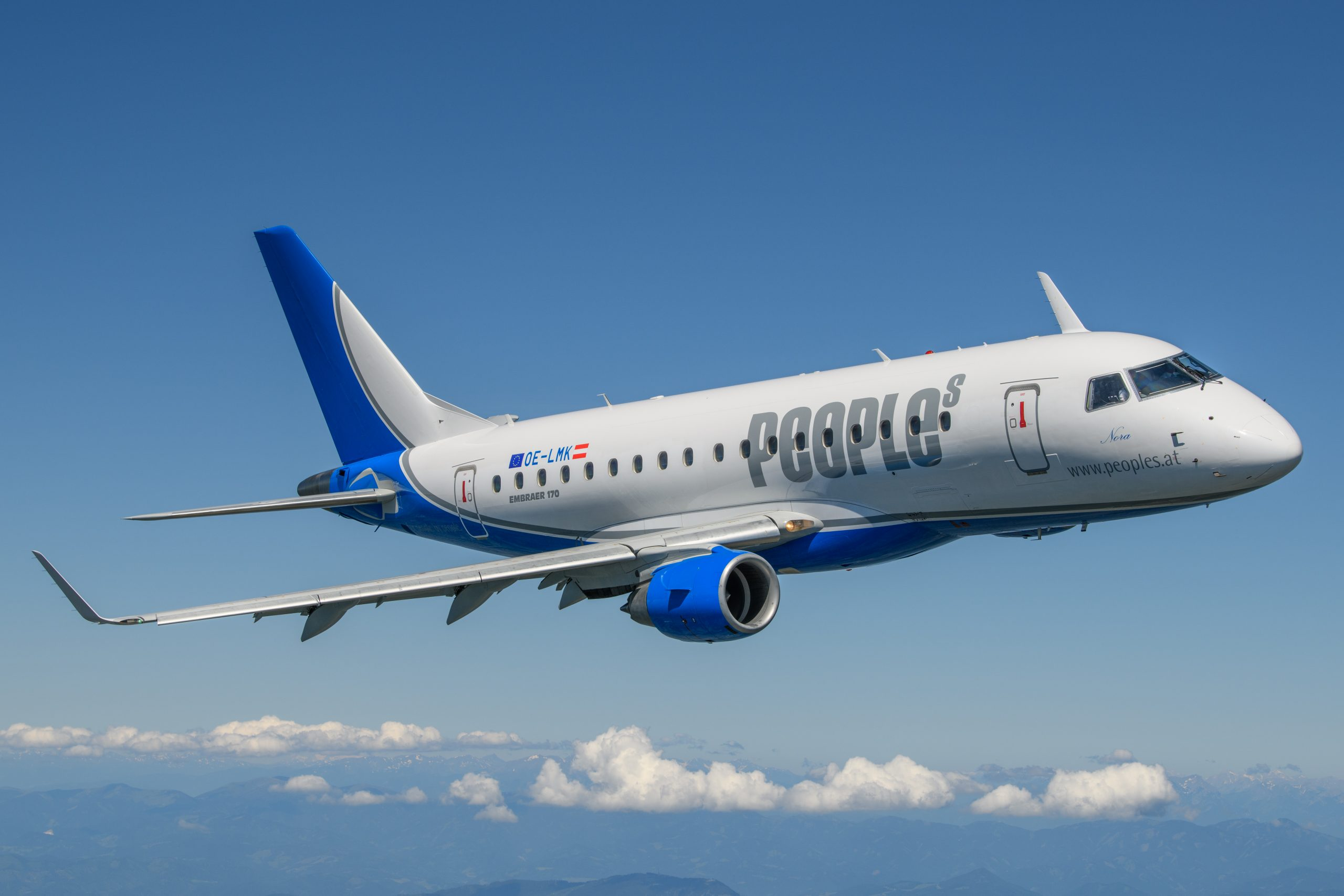 Embraer ERJ-170 fra People's (Foto: Peoples Air Group   PR)