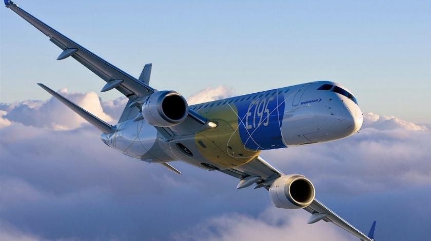 Embraer E195-E2. (Foto: Embraer)