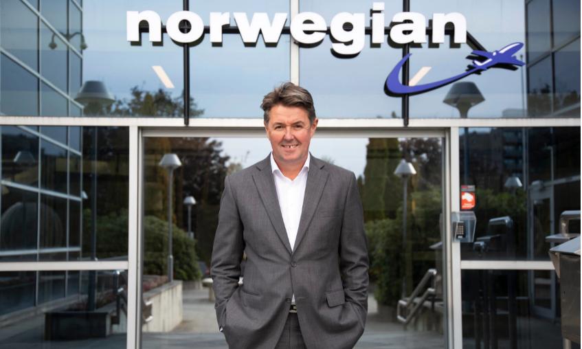 Geir Karlsen, koncernchef i Norwegian. (Foto: Avionews | web)