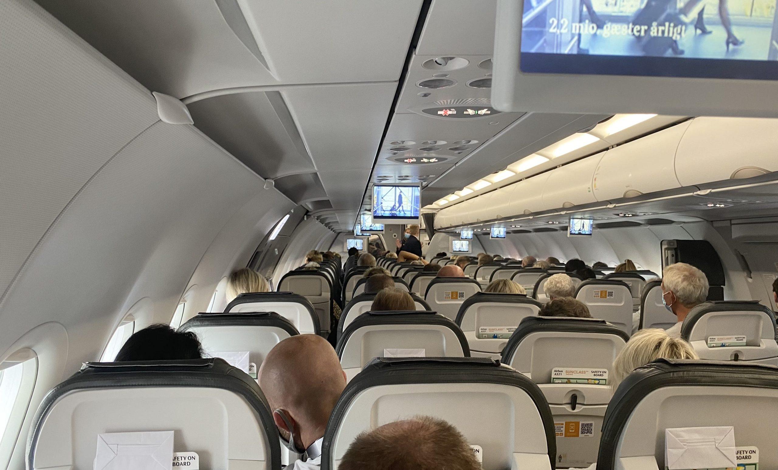Samtlige sæder var optaget på Sunclass-flyvningen. (Foto: Danny Longhi Andreasen)