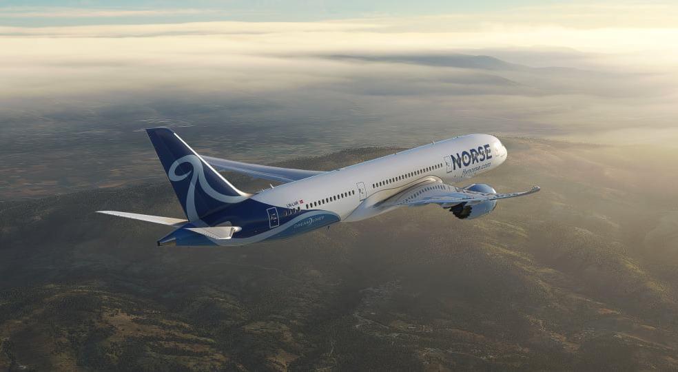 Boeing 787 Dreamliner fra Norse Atlantic Airways. (Foto: Norse Atlantic Airways   PR)