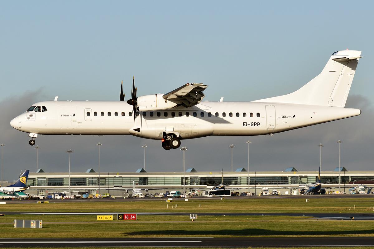 Den første ATR 72-600 til irske Emerald Airlines har registrering EI-GPP. Foto: Anna Zvereva, CC 2.0