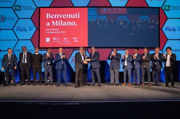 Milano fik overdraget værtsskabet efter World Routes i Adelaide i 2019. (Foto: Routes Online)