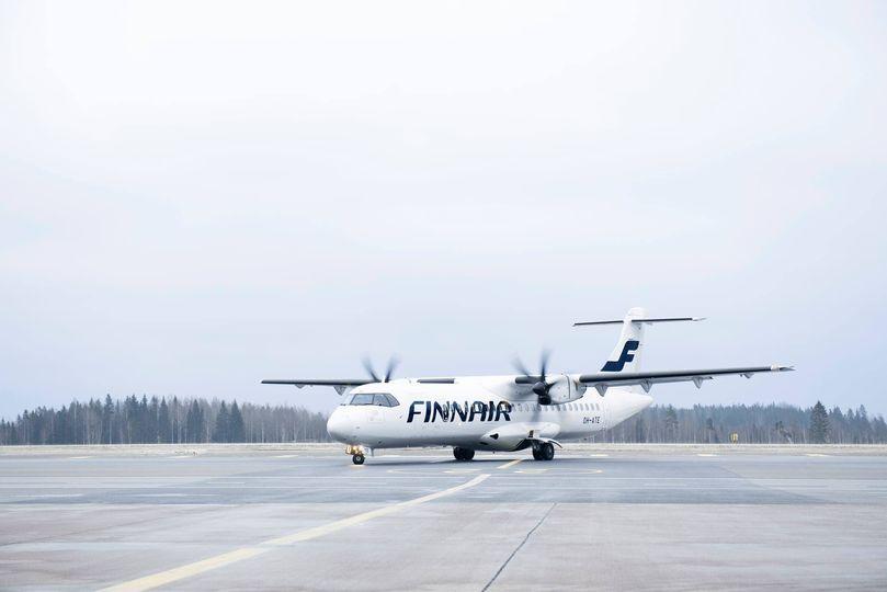 En ATR 72-500 fra det finske datterselskab Norra. Foto: Norra/Facebook