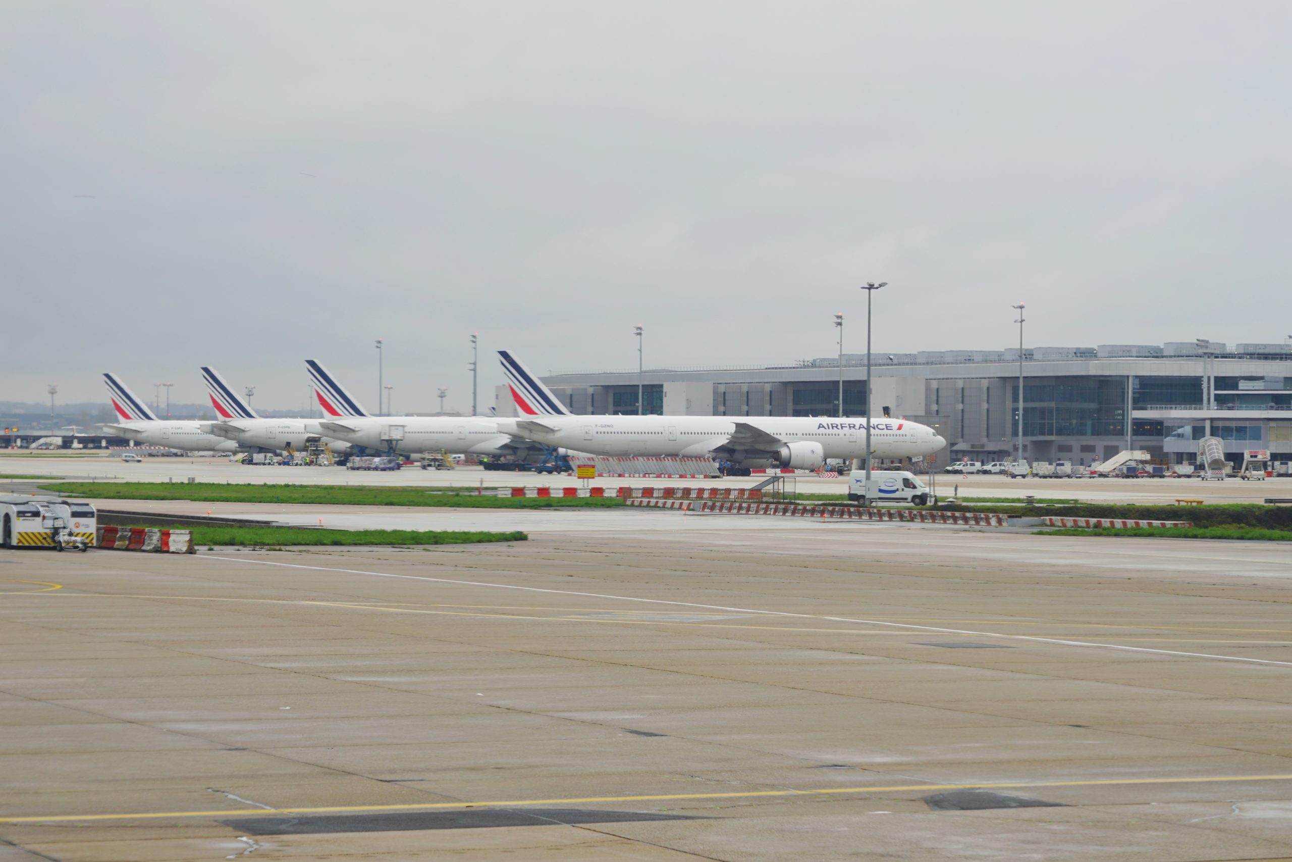 Fly fra Air France i Paris Orly Airport. (Foto: EQRoy | shutterstock)