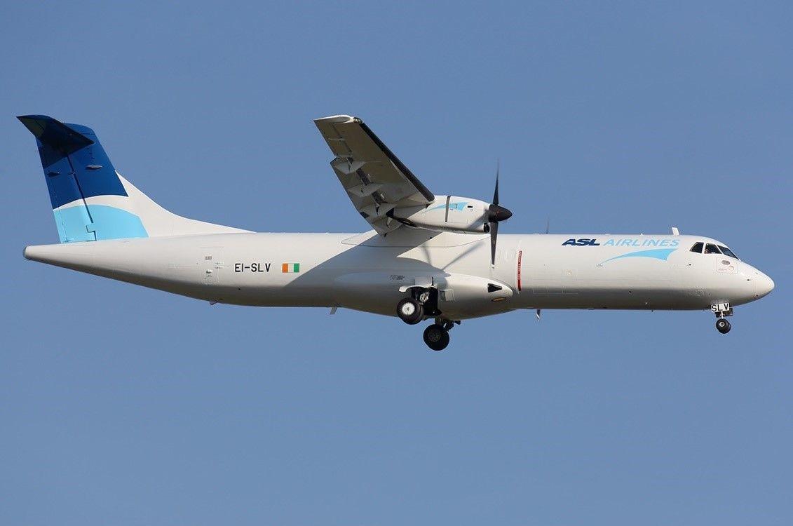 Et ATR 72-fragtfly. (Foto: ASL Aviation Holdings)