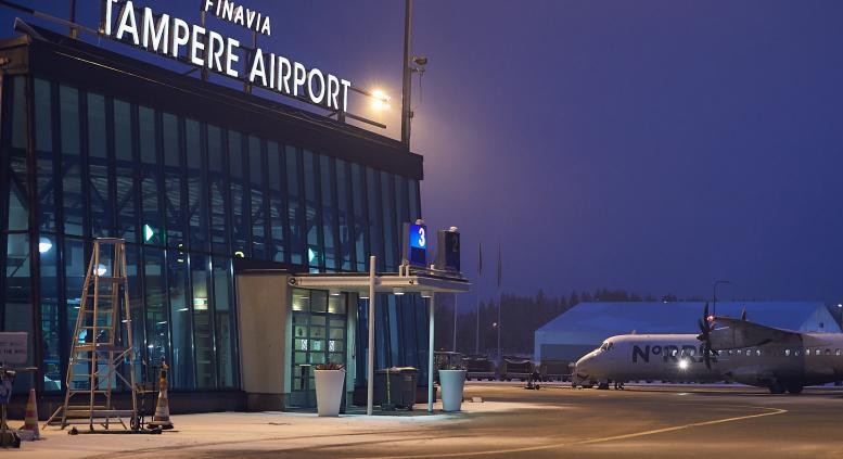 Tampere Airport. (Arkivfoto: Finavia   PR)