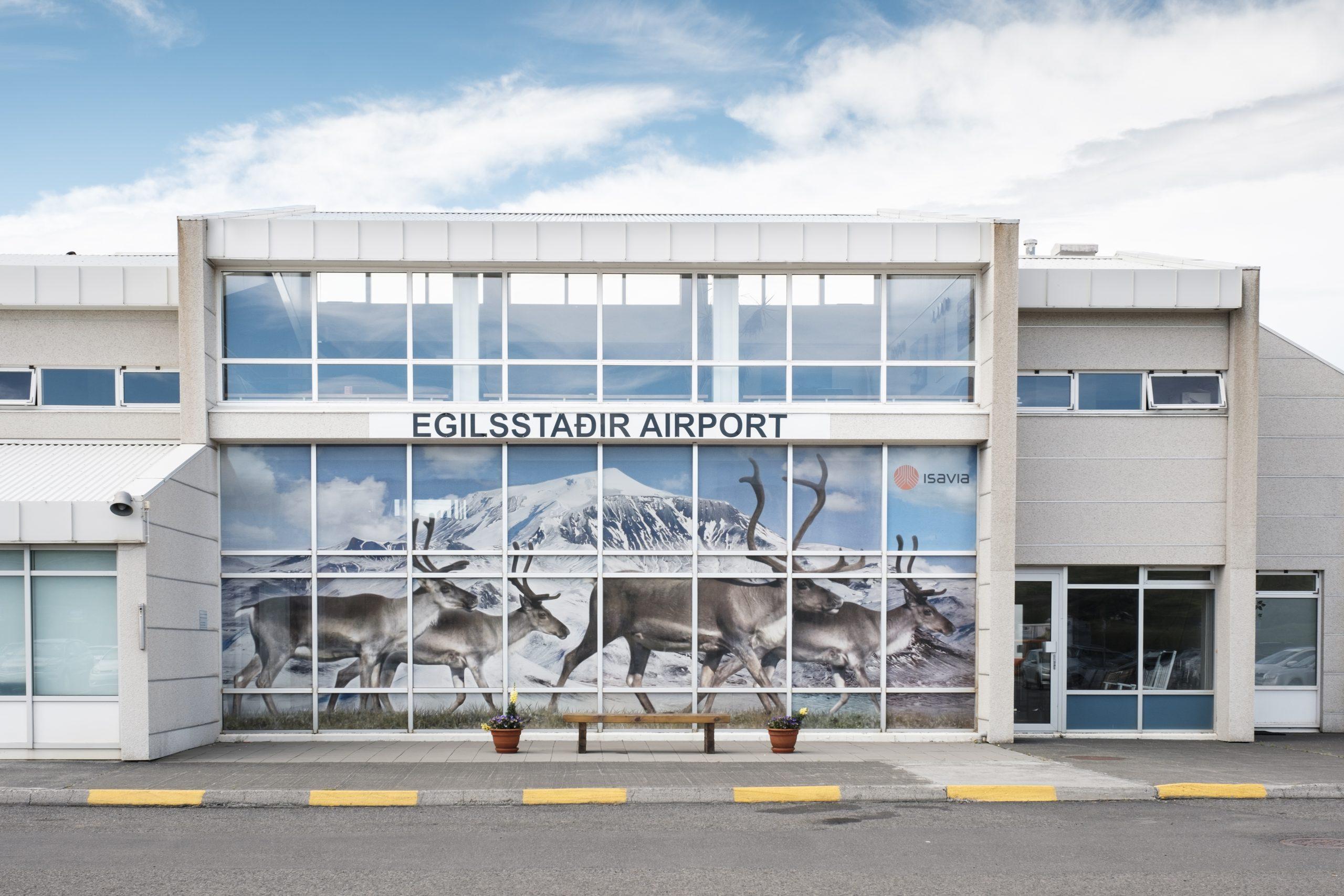 Egilsstadir Airport. (Foto: Isavia)